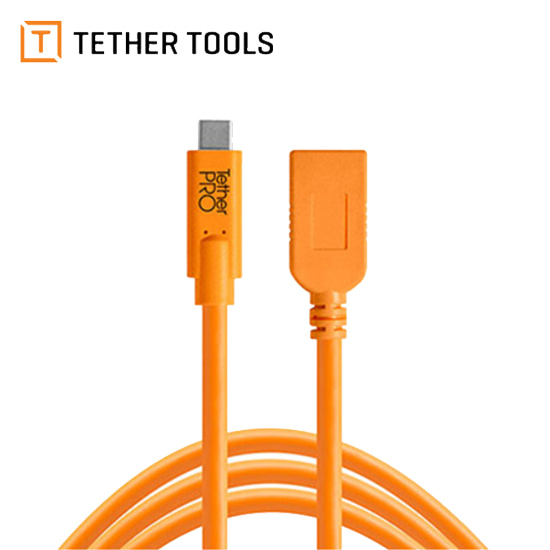 테더툴스 TetherPro USB-C to USB-A Female Adapter